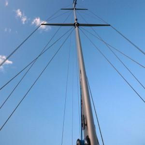 Pal de vaixell sense vela