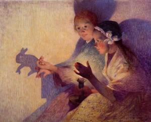 «Ombres xineses, el conill» de Ferdinand du Puigaudeau (1895)