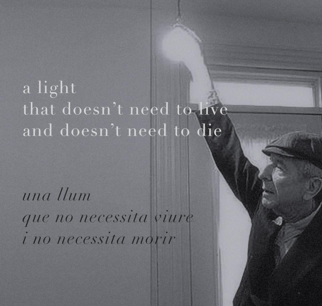 Una llum